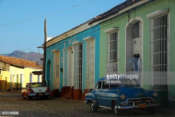 street of Trinidad Cuba
