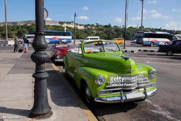 Street of vieja of Havana in Cuba