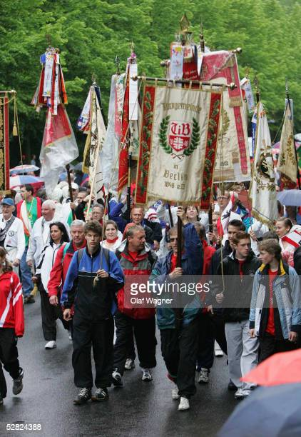 Street Parade during the Official Opening Ceremony of the Gymnastics Festival on May 14 2005 in Berlin Germany