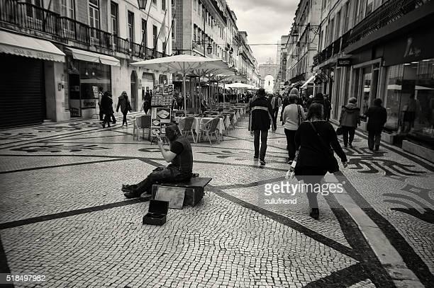 Artiste de rue à Lisbonne