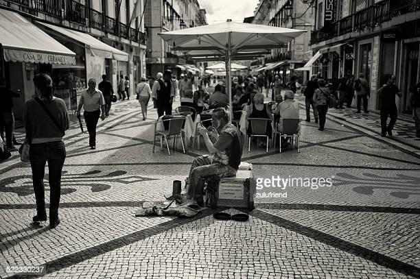 Artista de Rua em Lisboa