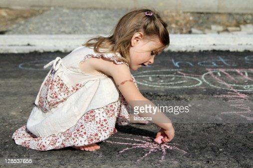 Street performerin : Stock Photo