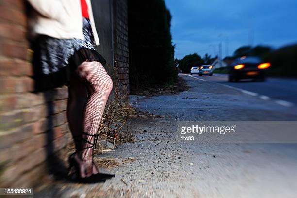 Street prostitution concept