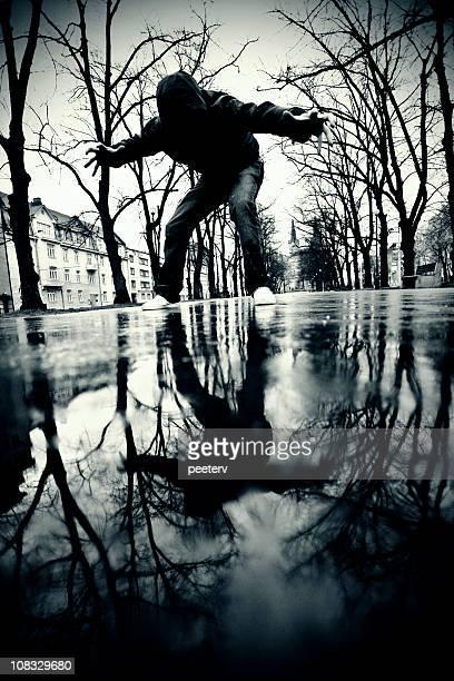Rue reflets
