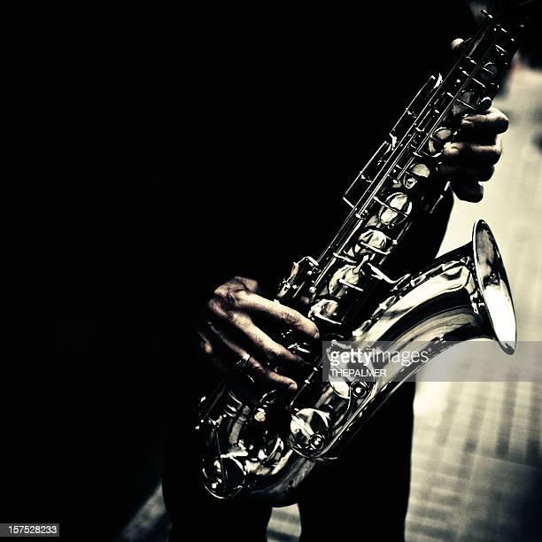 street-saxophonist