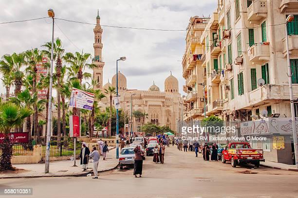 Street scene, Alexandria, Egypt
