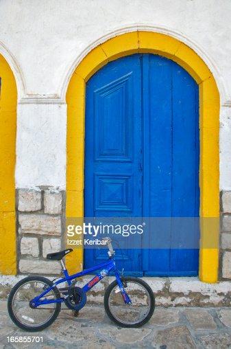 Street scene from Island of Megisti, Kastellorizo