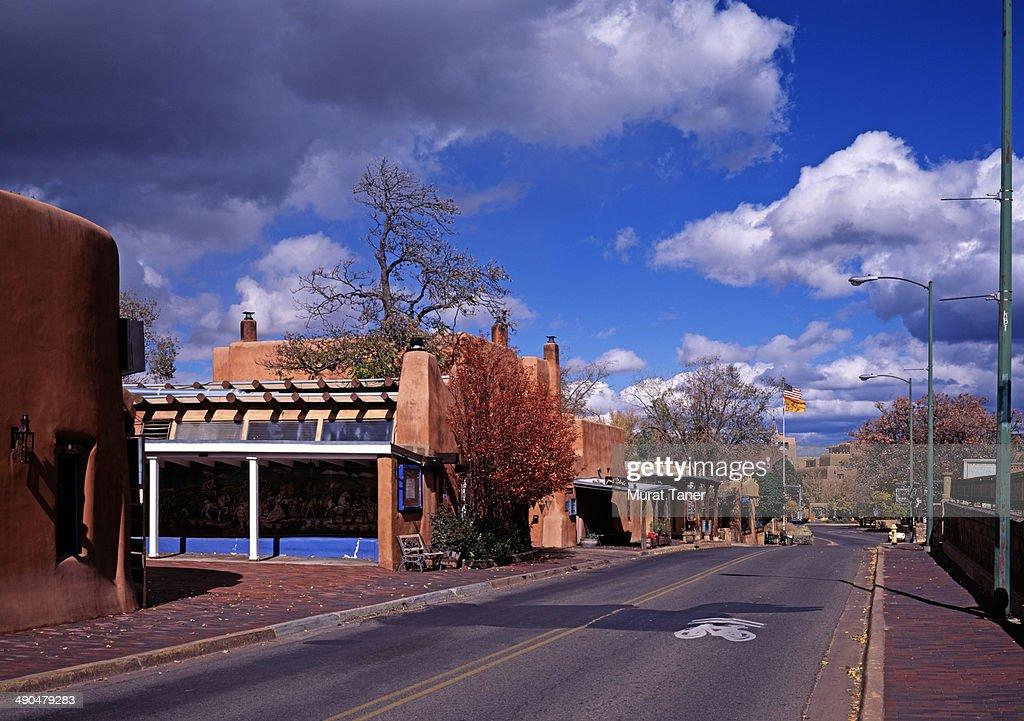 Street scene in Santa Fe