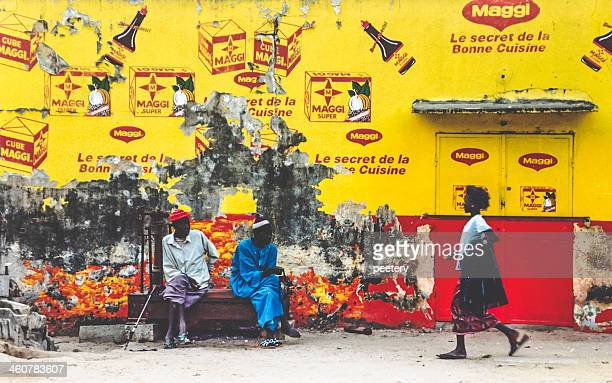 Street scene in Senegal.