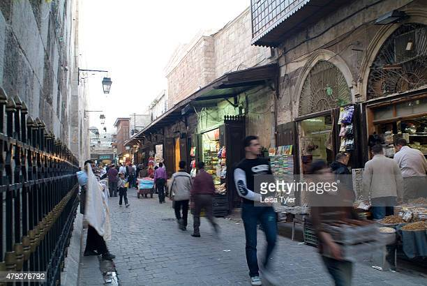 A street scene in the old town of Aleppo Syria before the civil war Aleppo is one of the oldest continuously inhabited places on earth historians...