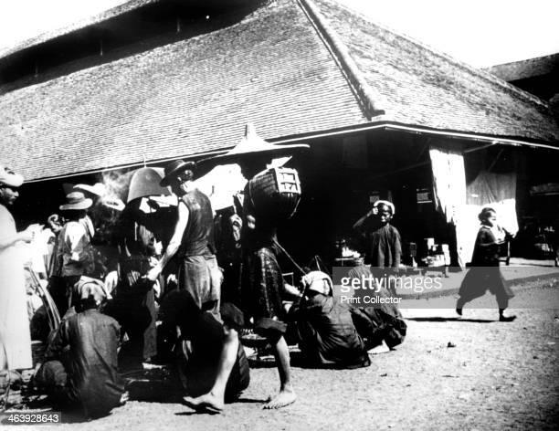 Street Scene Saigon 1900