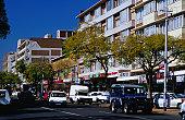 Street scenes: traffic on Esselen Street, Sunnyside