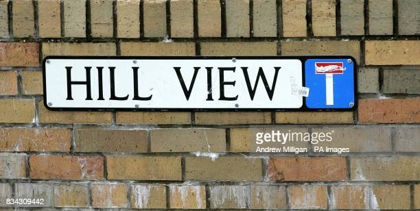 Street sign for Hill View in Brechin Angus