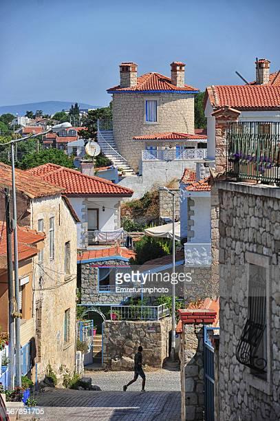 A street view from alacati,izmir