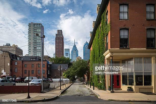 Street view of Philadelphia