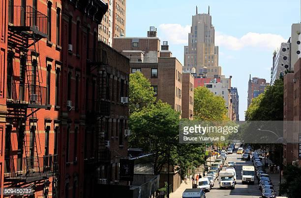 Street view of western Chelsea
