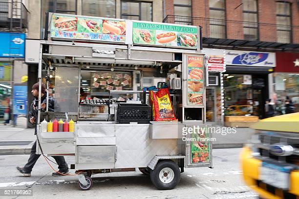 streetfood cart, New York