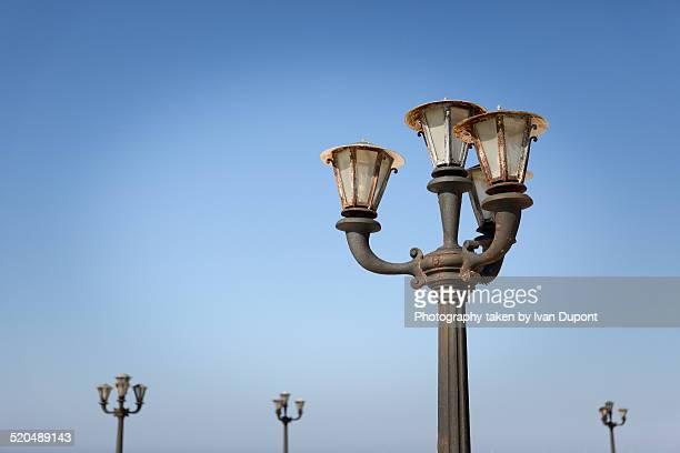 Streetlights in Otranto