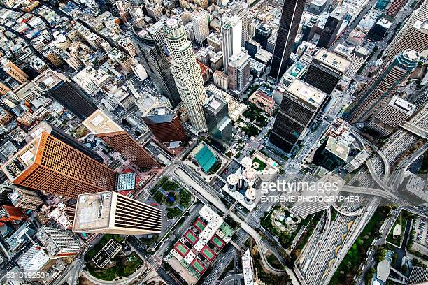Streets and buildings of Los Angeles