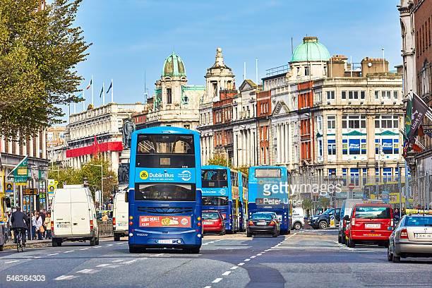 Streets of Dublin City,Ireland
