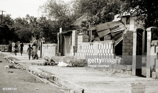 streets of kingston, jamaica.