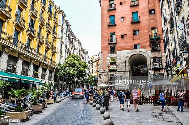 Streets of Madrid, Spain
