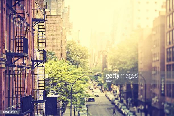 Calles de la ciudad de Nueva York-Distrito de la carne