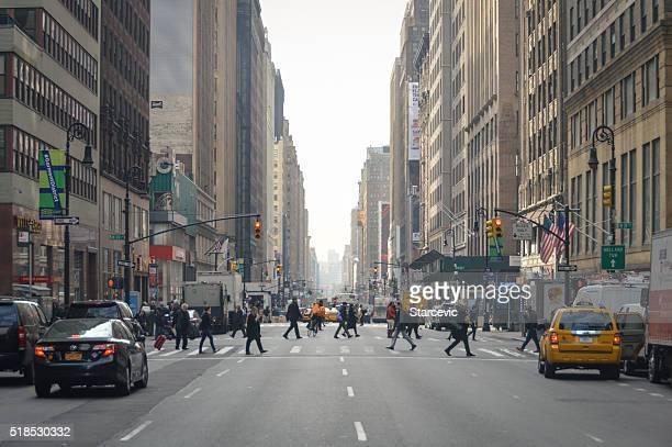 Calles de la ciudad de Nueva York