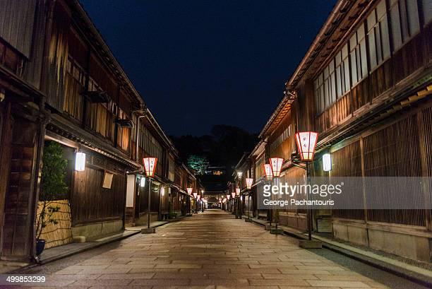Streets of old Kanazawa