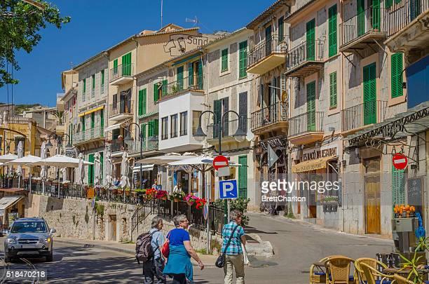 Streets of Puerto de Soller, Majorca