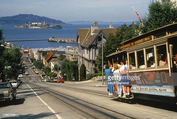 Streets scene San Francisco, CA USCT073