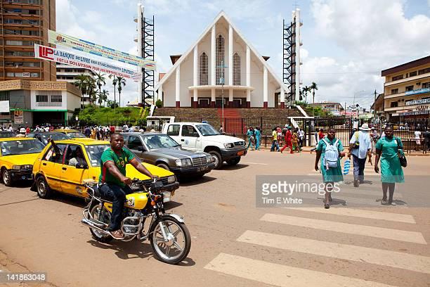 Streetscene, Yaounde Cameroon
