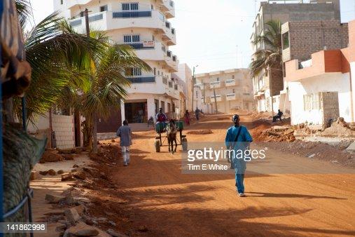 Streetscene, Yoff, Dakar, Senegal
