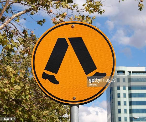 Streetsign: crossing