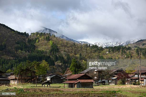 Streetview of Shirakawa-go