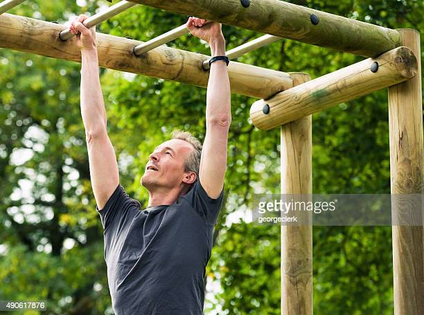 Strength Training on Monkey Bars