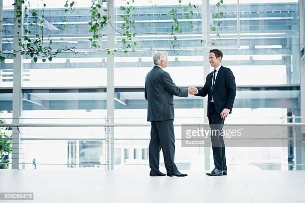 Strengthening business relations