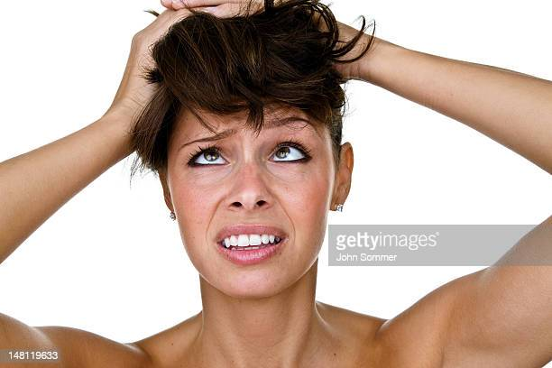 ストレスがたまった女性のひどい日