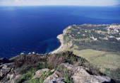 A stretch of the Costa viola north of Reggio Calabria Calabria Italy
