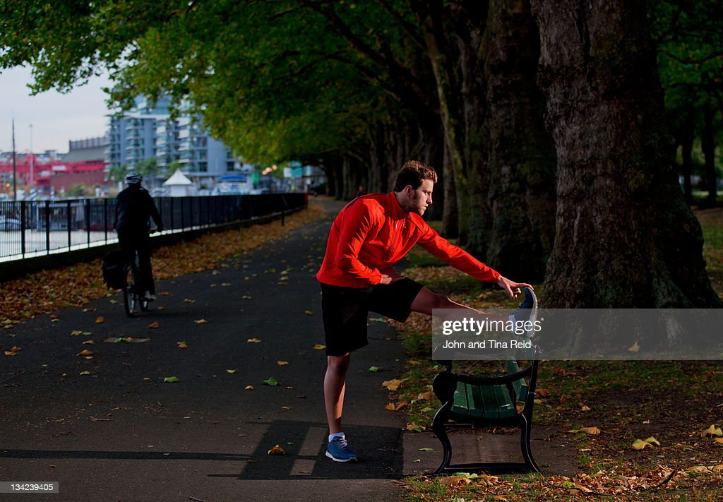 Stretch out : Stock Photo
