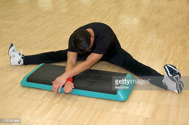 Stretching in fitness class