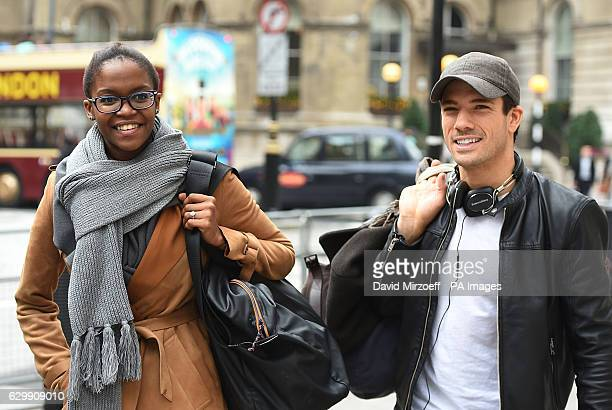 Strictly Come Dancing finalists Oti Mabuse and Danny Mac leaves Broadcasting House London ahead of this weekend's final of the BBC's popular Saturday...