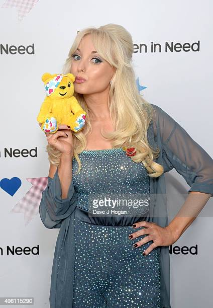 Strictly Come Dancing star Helen George supports BBC Children in Need ahead of the BBC One Appeal show on Friday 13th November at Elstree Studios on...