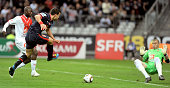 Striker Mevlut Erding of Paris Saint Germain football club is seen during the French Football Cup Final at Stade de France on May 1 2010 in Paris...