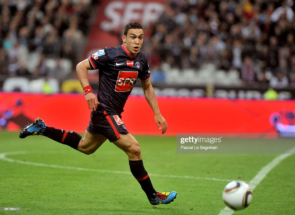 Striker Mevlut Erding of the Paris Saint Germain football club is seen during the French Football Cup Final at Stade de France on May 1, 2010 in Paris, France.