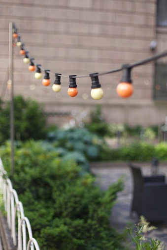 String Lights In Nursery : String Lights Stock Photos and Pictures Getty Images