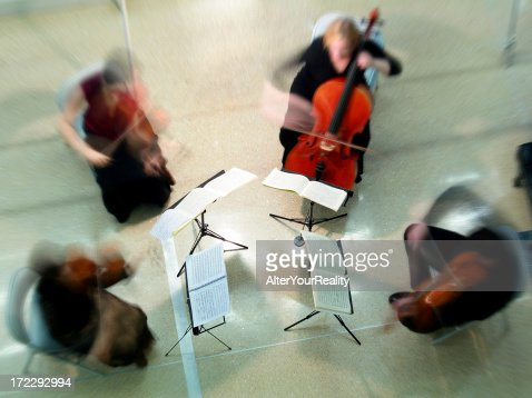 String quartet : Stock Photo