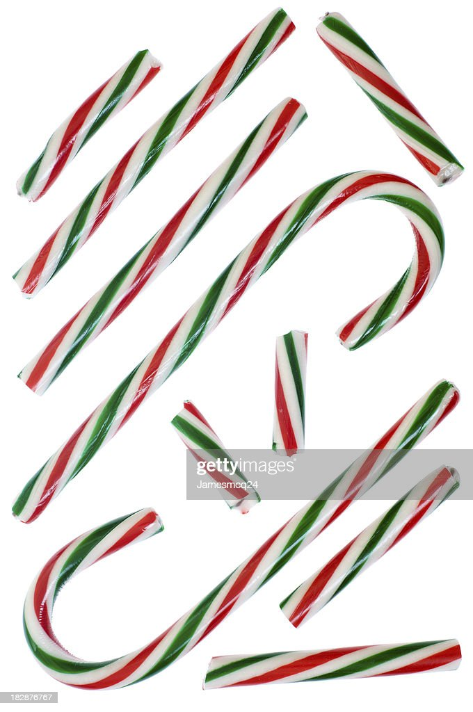 Striped Candy Cane Samples