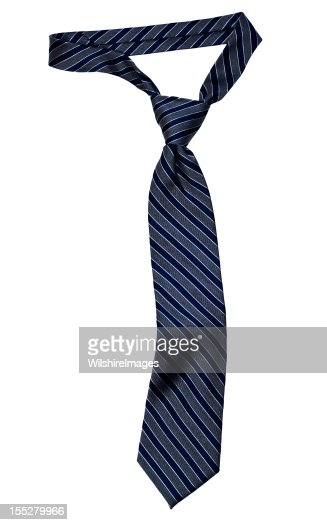 Striped Necktie with Windsor Knot