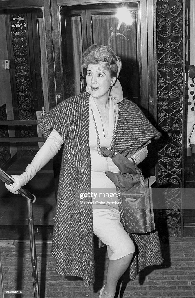 Stripper actress and author <a gi-track='captionPersonalityLinkClicked' href=/galleries/search?phrase=Gypsy+Rose+Lee&family=editorial&specificpeople=215427 ng-click='$event.stopPropagation()'>Gypsy Rose Lee</a> (Rose Louise Hovick) poses for a photo at Club 21 on January 12, 1966 in New York City, New York.